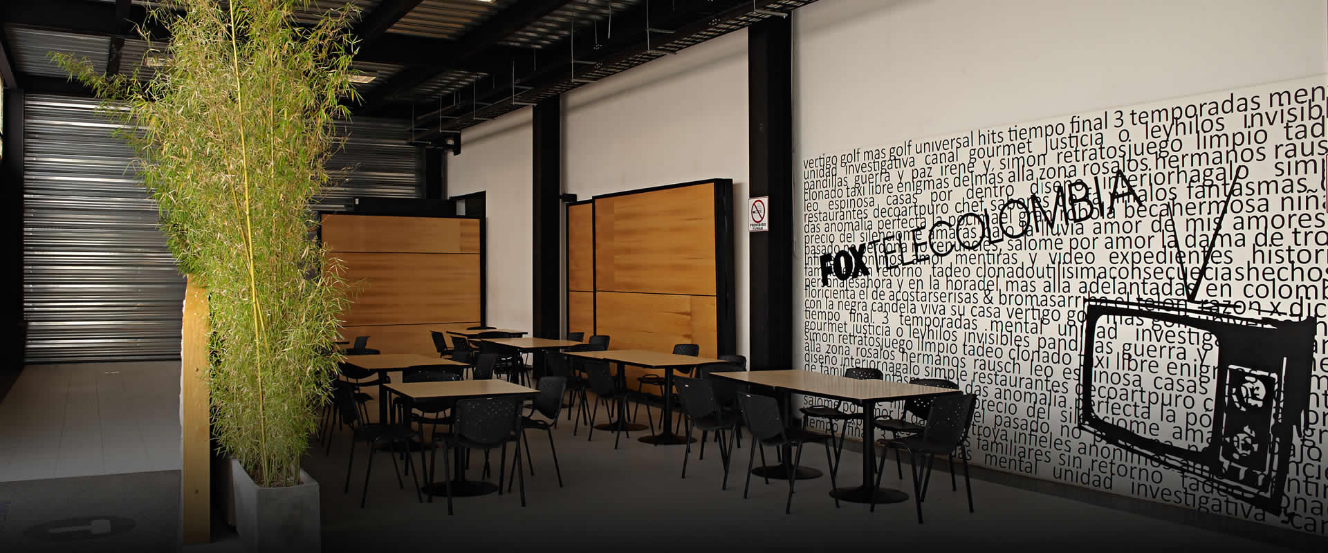 Zona cafeteria FOXTelecolombia